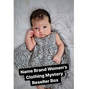 Name Brand Women's Clothing Mystery Reseller Box